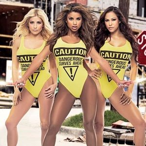 Other - YELLOW DANGEROUS CURVES SWIMSUIT / BODYSUIT